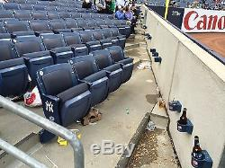 4 Front Row Field Level Section 130 New York Yankees Tickets v. Balt. 8/12/19