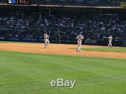4 Front Row Field Level Section 130 New York Yankees Tickets v Detroit 4/29/20
