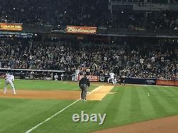4 Front Row Field Level Section 130 New York Yankees Tickets v KC 6/22/21