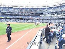 4 Front Row Field Level Section 130 New York Yankees Tickets v Oakland 6/18/21