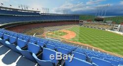 4 Los Angeles Dodgers vs New York Yankees (8/23/2019) Dodgers Stadium 32RS ROW M