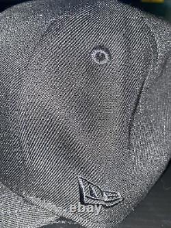 7 1/4 new york yankees black yankee stadium icy blue bottom fitted hat