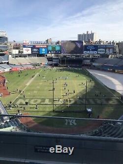 9/24/2020 New York Yankees Houston Astros 4 Jim Beam Suite Tickets B320 Row 2 Ny