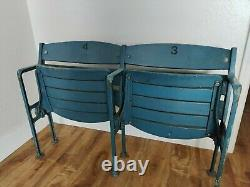 AUTHENTIC 1923 NEW YORK YANKEE STADIUM Box SEATS Ruth & Gehrig #'s PICKUP ONLY