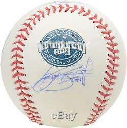 A. J. Burnett New York Yankees Signed Yankee Stadium Inaugural Season Baseball