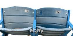 Actuall Pair Of New York Yankees Stadium Seat Steiner Loa & Mlb Authenticated