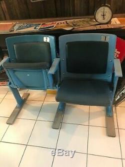 Authentic Original NYY New York Yankee Stadium Double Box Seats w TOP HAT EMBLEM