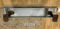 Authentic Rare 1973 Yankee Stadium Bleacher Seat & Brass Plaque New York Yankees