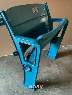 Authentic Yankee Stadium Seat Mlb Holo. New York Yankees #2 Derek Jeter