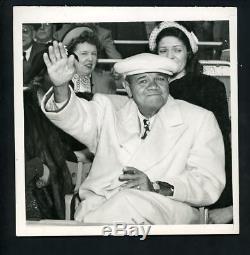 Babe Ruth at Yankee Stadium Opening Day 1948 Press Photo New York Yankees