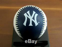 Bernie Williams What A Ride New York Yankees Signed Auto Yankee Stadium Ball Jsa