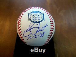 Bucky Dent 1978 Wsc New York Yankees Signed Auto Yankee Stadium Oml Baseball Jsa