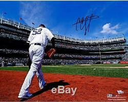 CC Sabathia New York Yankees Autographed 16 x 20 Stadium Photograph