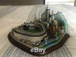 Danbury Mint New York City Opening Day at Yankee Stadium Model Statue Replica