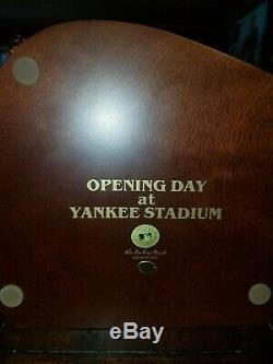 Danbury Mint New York Yankees Opening Day at Yankee Stadium Model N. Y. City 2002