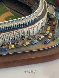 Danbury Mint New York Yankees Opening Day at Yankee Stadium Model N. Y. City WOW
