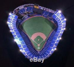 Danbury Mint Night Game At Yankee Stadium Lit Replica Statue New York