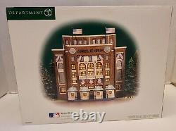 Dept 56 Christmas In The City Yankee Stadium New York Yankees MLB Baseball New