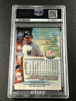 Derek Jeter 1999 Stadium Club Chrome #scc25 Psa 10 New York Yankees Mlb Hof