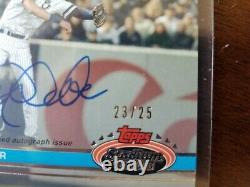 Derek Jeter 2021 Topps Stadium Club Auto /25 New York Yankees 76