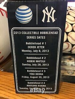 Derek Jeter Bobblehead SGA 7/8/2013 New York Yankee Stadium HOF Bobble Head MLB