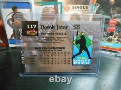 Derek Jeter Rookie 1992 Stadium Club Baseball #117 New York Yankees