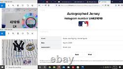 Derek Jeter Signed 2009 New York Yankees Stadium Inaugural Season Jersey Steiner