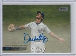 Don Mattingly 2021 Stadium Club On Card Autograph Auto New York Yankees