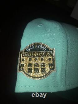 Exclusive New Era 59Fifty New York Yankees Stadium Patch Hat-HAT CLUB-Size 7 1/2