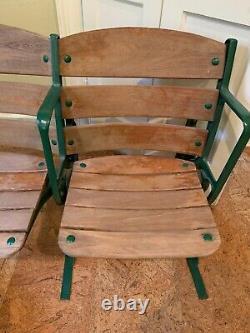 Game Used Box Seats 1930s Original New York Yankee Stadium Amazing Condition
