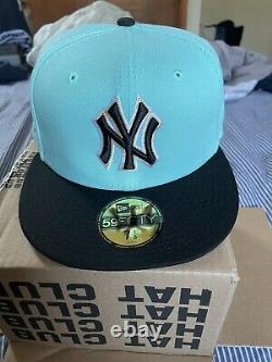 HatClub Exclusive New Era 59Fifty New York Yankees Stadium Patch Hat Mint