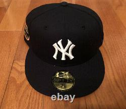 Hat Club Exclusive New York Yankees 50th Stadium Patch Pink UV Hat 7 1/2