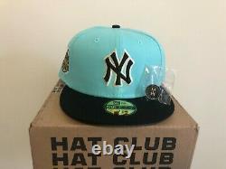 Hatclub Exclusive New Era 59Fifty New York Yankees Stadium Patch Hat Mint/Black
