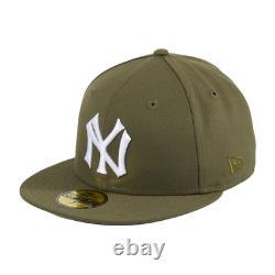 Hatclub Exclusive New York Yankees Olive 7 1/4 Variety Grey Stadium World Series