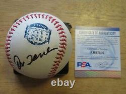 JOE TORRE signed NEW YORK YANKEES Stadium (1923-2008) Baseball PSA AH57507