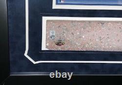 Joe Dimaggio New York Yankees Stadium Brick Framed Monument Park Steiner Mlb Coa