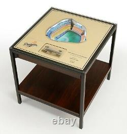 MLB 3D Stadium View Lighted End Table Wood Choose Your Team