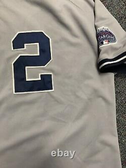 Majestic New York Yankees Authentic Baseball Jersey Stadium Patch Derek Jeter