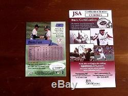 Mariano Rivera Hof New York Yankees Signed Auto 2000 Topps Stadium 87 Card Jsa