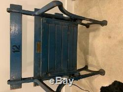 NEW YORK YANKEES STADIUM SEAT from 1973 RENOVATION HOUSE THAT RUTH BUILT