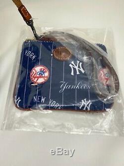 NWT Dooney & Bourke MLB New York Yankees Addison Tote & Stadium Wristlet $348