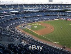 NY Yankees ALDS Game 2 Yankee Stadium Sat 10/5 2 or 4 Tickets Sec 411 Row 13