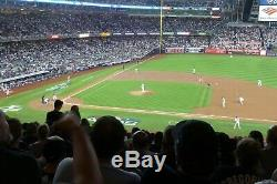 NY Yankees Astros ALCS Home Game 3 Thur 10/17 2 or 4 Tickets Sec 215 row 17