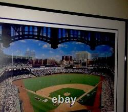 New York Yankee Stadium Framed Lithograph Ten Four Sixty One Limited Edition