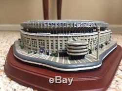 New York Yankee Stadium Night Game Danbury Mint Collectible Replica