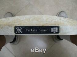 New York Yankees 2008 Game Used 1st Base Final Season Yankee Stadium Steiner MLB