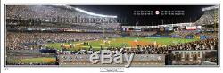 New York Yankees 2008 Last Night at Yankee Stadium Panoramic Poster #2056