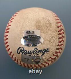 New York Yankees 2009 Inaugural Season Game Used Baseball Yankee Stadium RARE