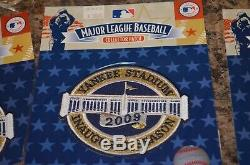 New York Yankees 2009 Inaugural Season Yankee Stadium Collectors Patch