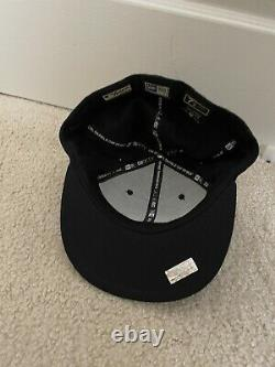 New York Yankees 2009 World Series New Era Fitted Hat Cap 7 1/2 Stadium Patch